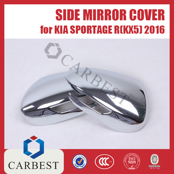 High Quality Side Mirror Cover for Kia Sportage 2016
