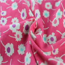 printed fabric material jersey soccer for wholesale fashion fabric