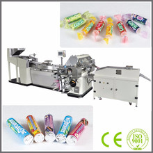 CE Approved SMVS-2000 Double Or Single Layer Paper Automatic Candy Roll Wrapping Machine