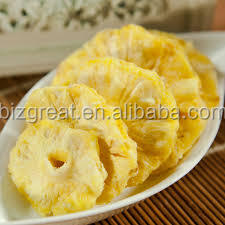 Frozen dried pineapple ring from China have been ready for you