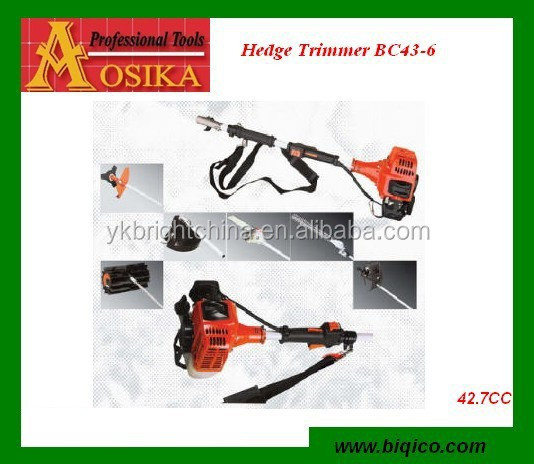 pole gasoline hedge trimmer 4 in 1 garden tools for 25CC 33CC 36CC 43CC 52CC with CE SAA EMC GS certificate