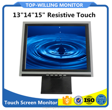 POS Computer 14Inch 15inch High Resolution Touch Screen Monitor