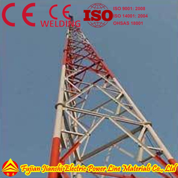 Steel Tube Lattice Tower Supplier