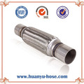 exhaust flexible pipe coupling with nipple