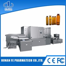 Small glass bottle filling machine,liquid syrup filling machine
