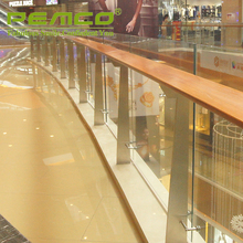 Best Handrail Project Manufacturer Customized Indoor/Outdoor Terrace Stainless Steel Glass Balcony Railing Designs