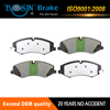 D1479 organic leading auto brake pad factory