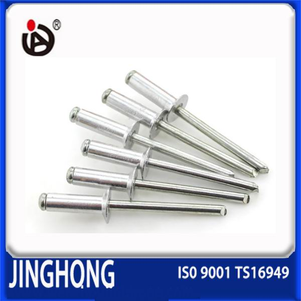 Made In China DIN 7337 Aluminium Steel Open Type Blind Rivet