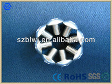 Slotted And Cross Recessed Truss Head Machine Screws