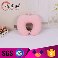 Custom made promotional pvc inflatable beach pillow transparent pvc body pillow neck travel pillow