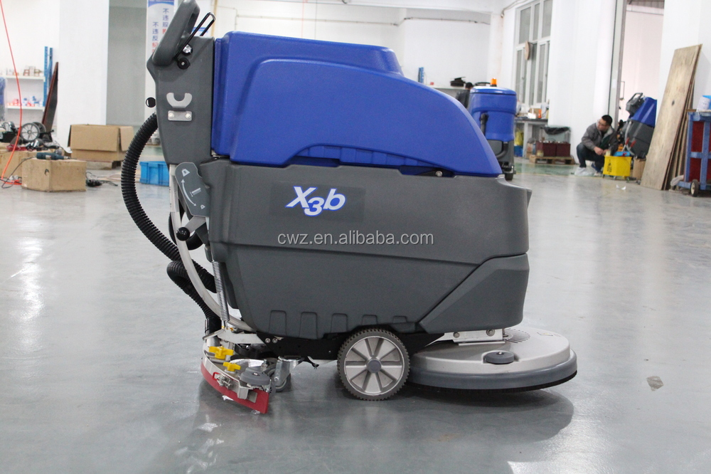 Cwz Brand Automatic Floor Scrubber Drain Cleaning Machine For Sale ...