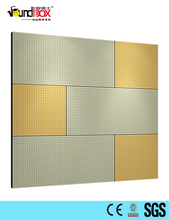 High Quality Perforated Office studios echo control wooden sound absorption panel
