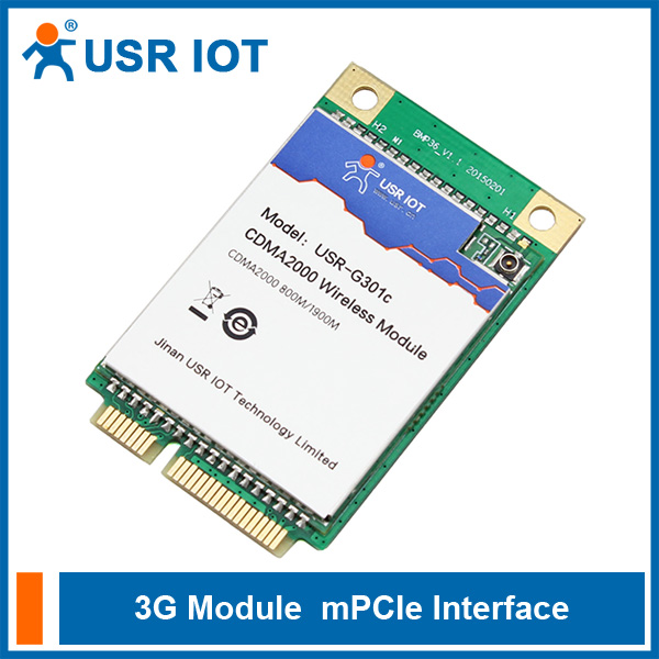 USR-G301c UART to CDMA 1x UART EV-DO USB 3G Module Wake-up Function Supported