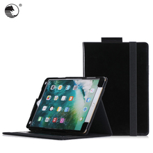 fashion jeans design Genuine leather+fiber tablet case for iPad Pro 10.5