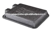 Supply FRP square waterproof hinged plastic box