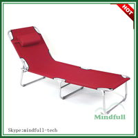 600D Oxford Wholesale Beach Cot/Folding Sunbed/Poolside Sun Loungers