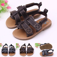 Free Shipping Shoes Baby Soft Leather Sandals Hard Sole Walking Shoes