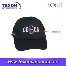DVR Hat/Cap Camera with remote controller TE-693BC