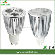 High lumen output led par 20 light par 20 led gu10/mr16 lamp base