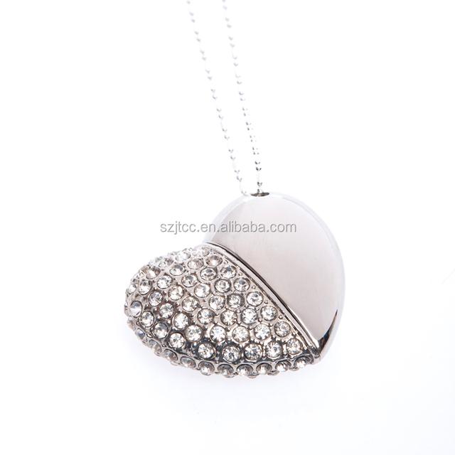 Luxury Jewelry Diamond USB Flash Drive