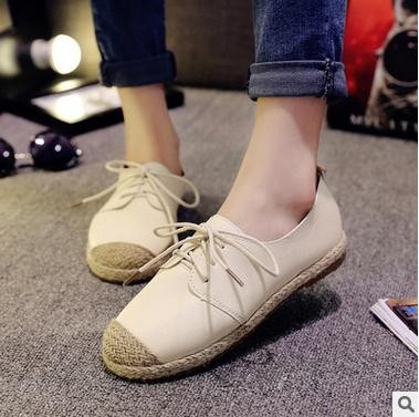 New design hot sale flat casual shoes lace up design beautiful fashion girls shoes