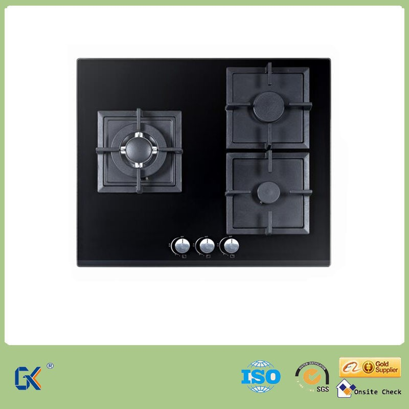 kitchen Appliance 3 Burner Gas Stove Restaurant Equipment Price List