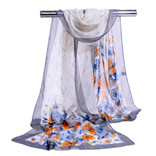 High Quality Long Beach Scarf Hot Sell Chiffon Shawl Scarf Online Wholesale