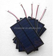 9V 3W Mini poly solar Panel small solar cell PV module for DIY solar Kits
