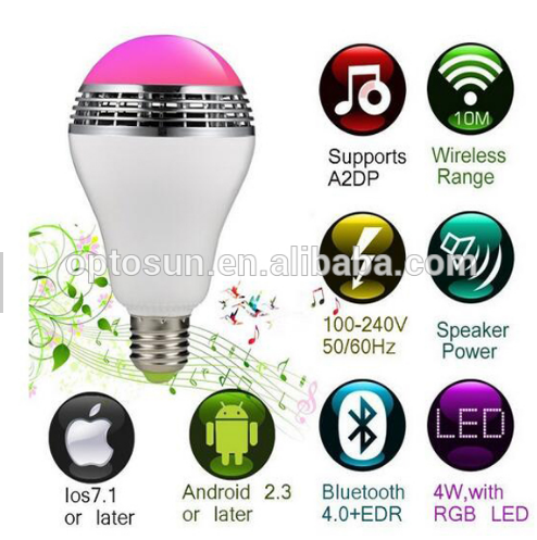 wholesale dimmable e27 6w wifi rgb led milight light bulbs