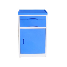 High Quality ABS Plastic Hospital Bedside Cabinet with drawers