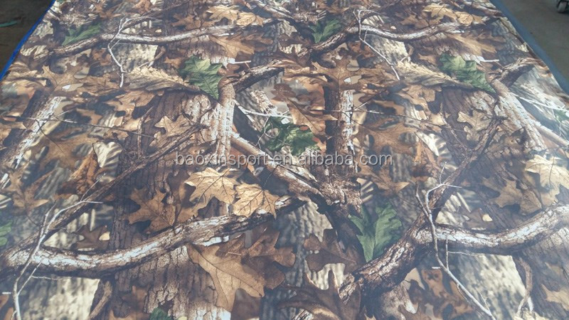 Camo Neoprene Fabric For Wader