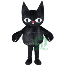 High Quality Factory Custom Black Cat Inflatable Mascot Costume funny inflatable costumes