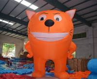 Good quality giant inflatable cat on sale