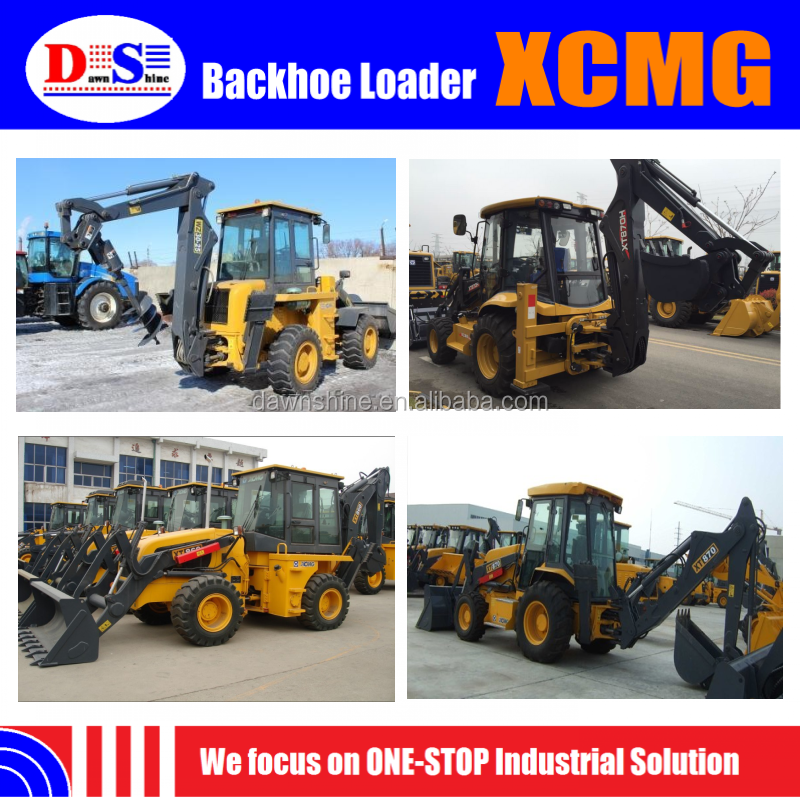 Factory Price! Price of Backhoe Loader XCMG - Backhoe Loader Hydraulic Hammer - Loader Backhoe Tire