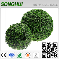 Songhui new products natural green cheap plastic trees leaves outdoor