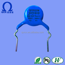 QCR 222M 6kv high voltage disc ceramic capacitors