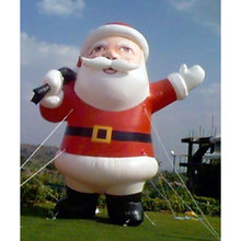 hot lowes christmas inflatable santa claus for sale