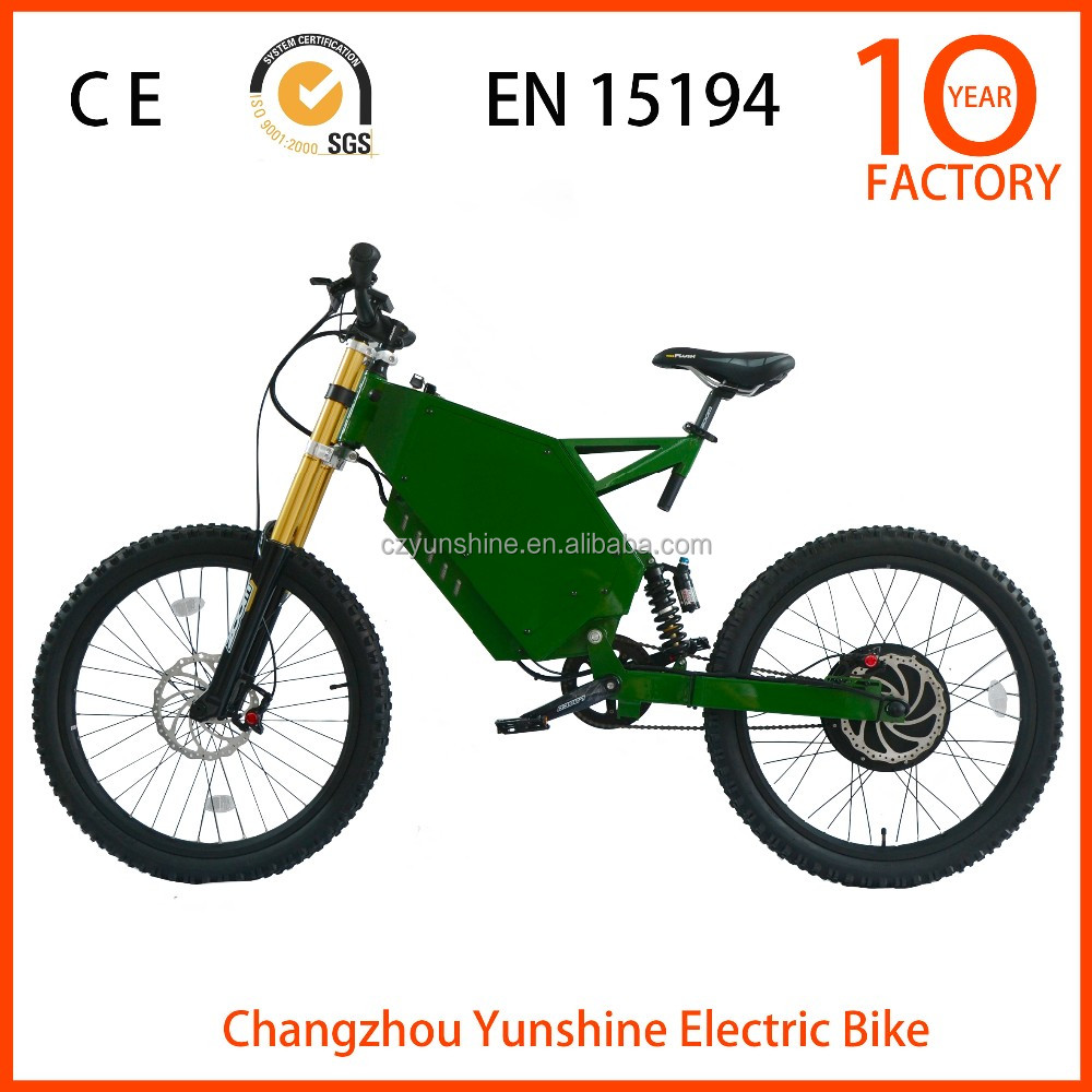 Changzhou Yunshine 48v 3000w motor electric motorcycle, electric bike 3000w kit