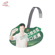 Custom supermarket swing shelf promotional wobblers with PP/PVC/PET
