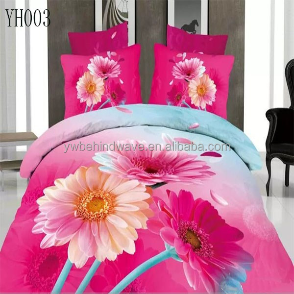 househood or hotel use jacquard bedding duvet cover set , quilted velvet bed covers