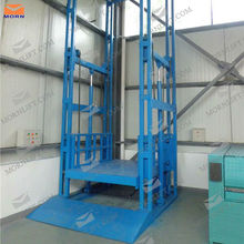 goods vertical used hydraulic cargo elevator for sale