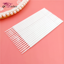 eyelashes extension Heigh quality cotton swab Micro brushes eyelash tools cotton swab