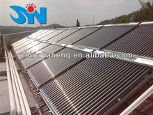 2013 Hot Sale solar water heater projects with solar collectors