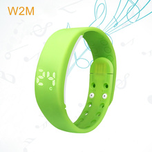 Funny sport digital led silicon smart wrist watch timer training band with music sound display