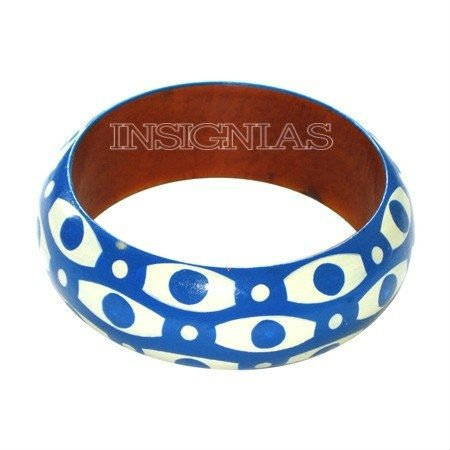 Wooden color painted bangle