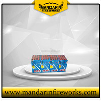 High quality missile cake fireworks with whistles, missile fireworks small cake fireworks