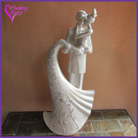 "Language of Love ""The Kiss"" Cake Topper Wedding Figurine"