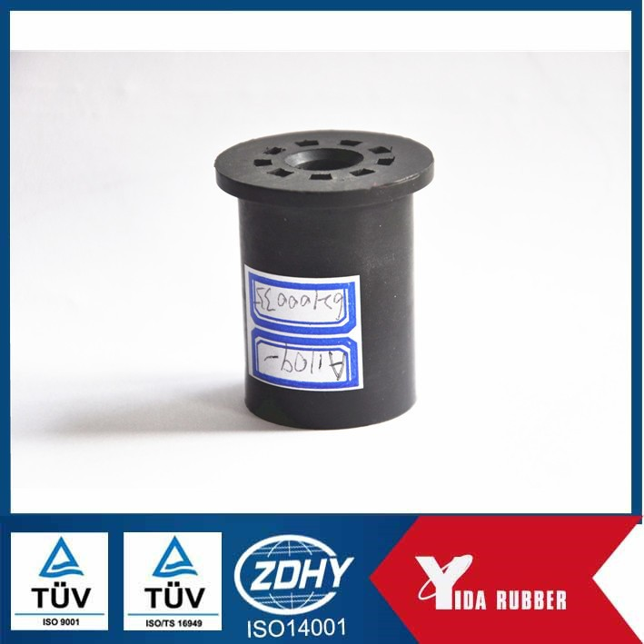 OEM ODM customized rubber pad/anti-vibration rubber cylinder/EPDM shock absorbing rubber block