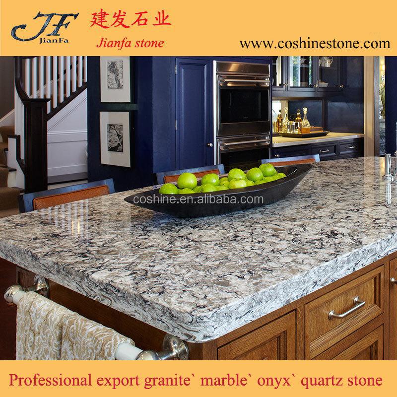 Cheap Man Made Stone Countertops Quartz Granite Kitchen Table Top