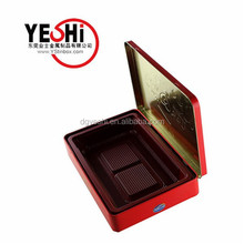 2015 Rectangle New Product Tin Cans For Food Canning Packing Metal Box With Accept Custom